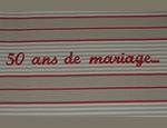 Message 50ans de mariage - 150px
